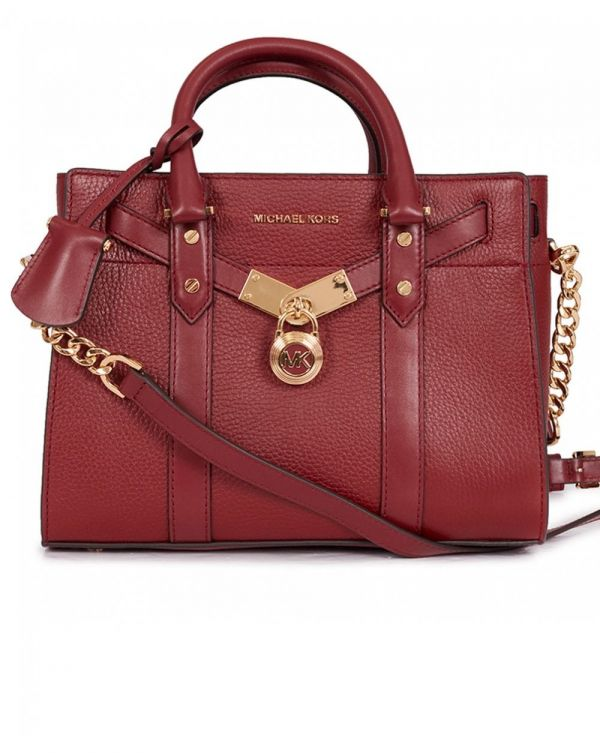 Nouveau Hamilton Small Leather Satchel Bag