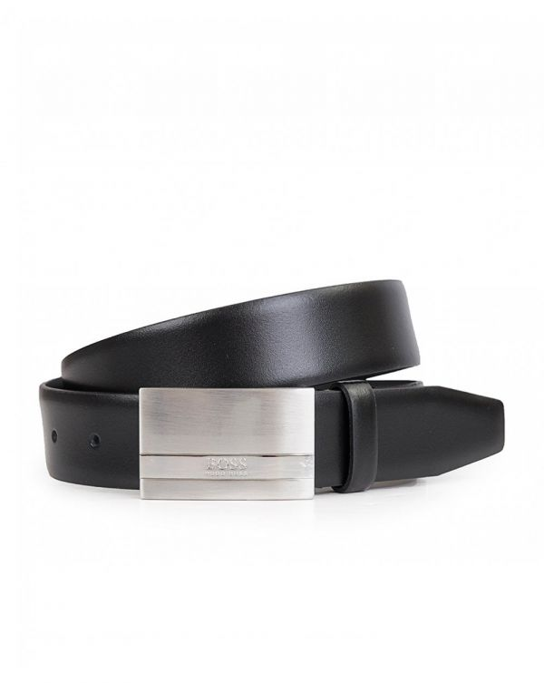 Baxton Leather Metal Plate Belt