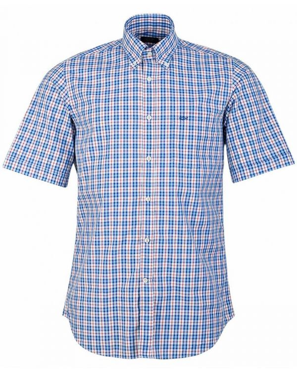 3 Colour Small Check Shirt