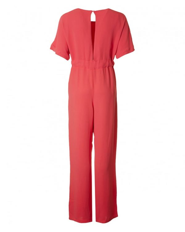 Crepe Long Jumpsuit