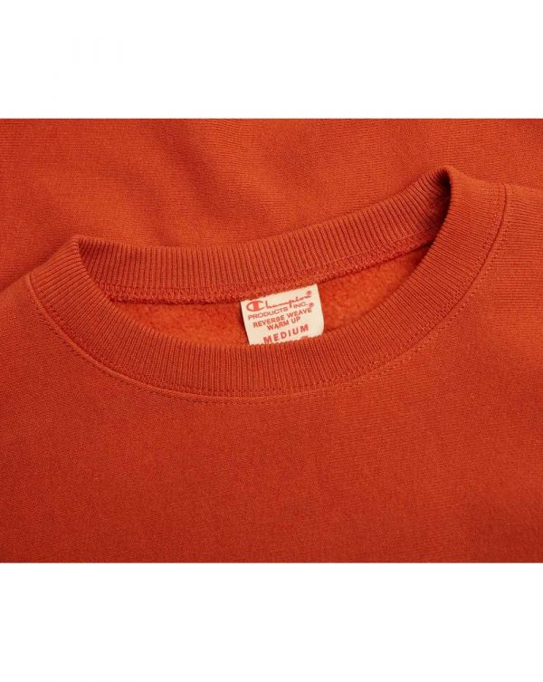 Small Chest Script Logo Crew Neck Sweat