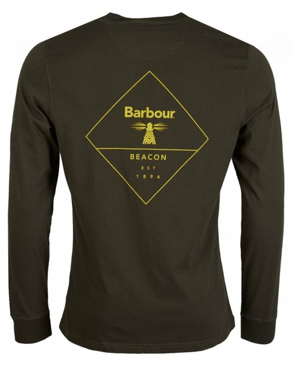 Beacon Long Sleeved Back Graphic T-shirt