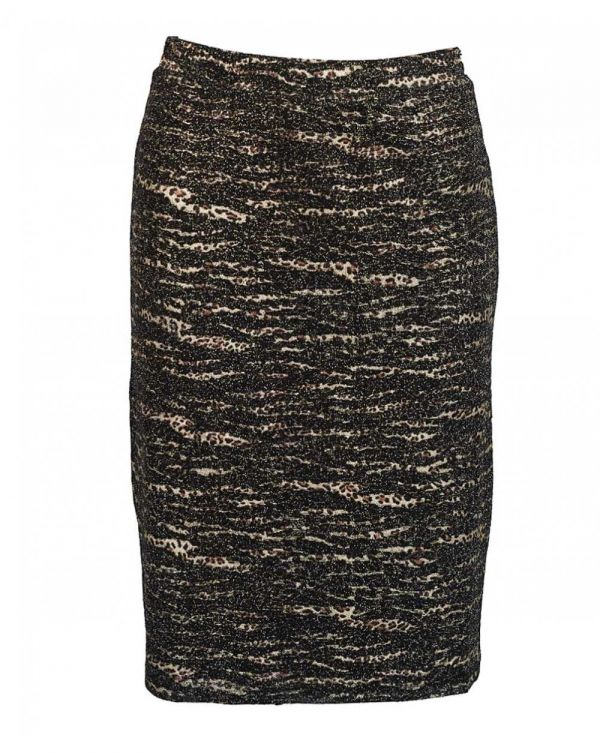 Lurex Knitted Skirt