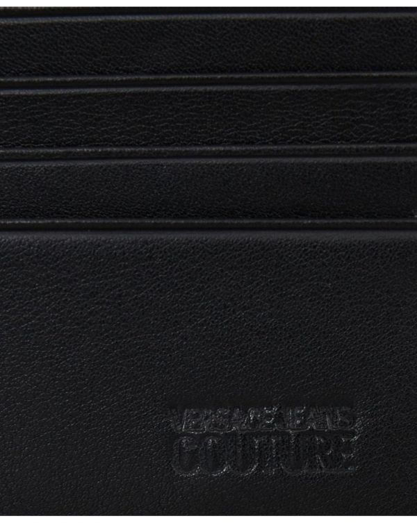 Couture Logo Leather Billfold Wallet