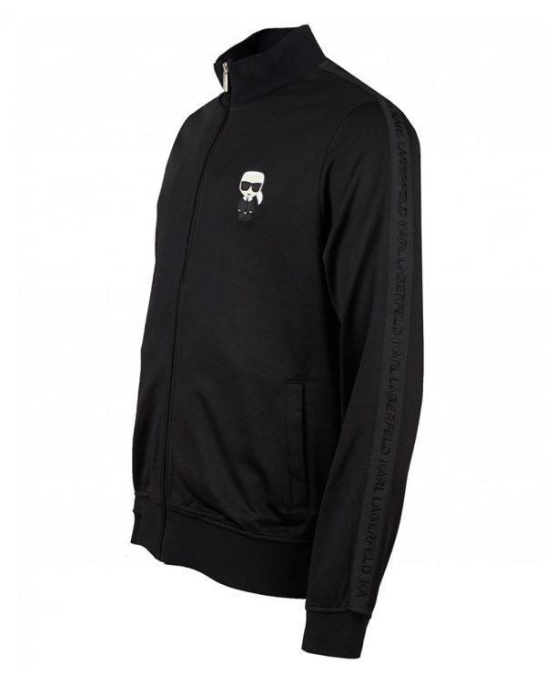 Taped Logo Tracksuit Top