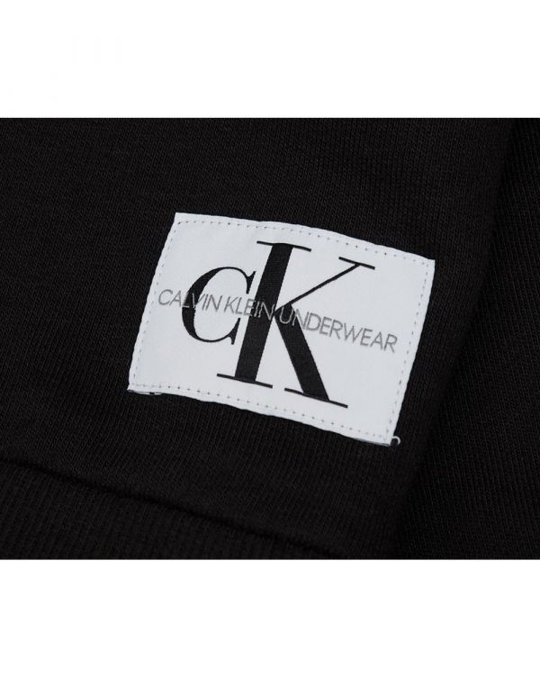Long Sleeved Patch Logo Sweat