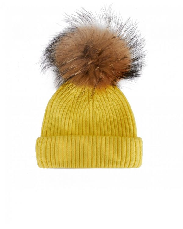 Bklyn Merino Wool Pom Pom Hat