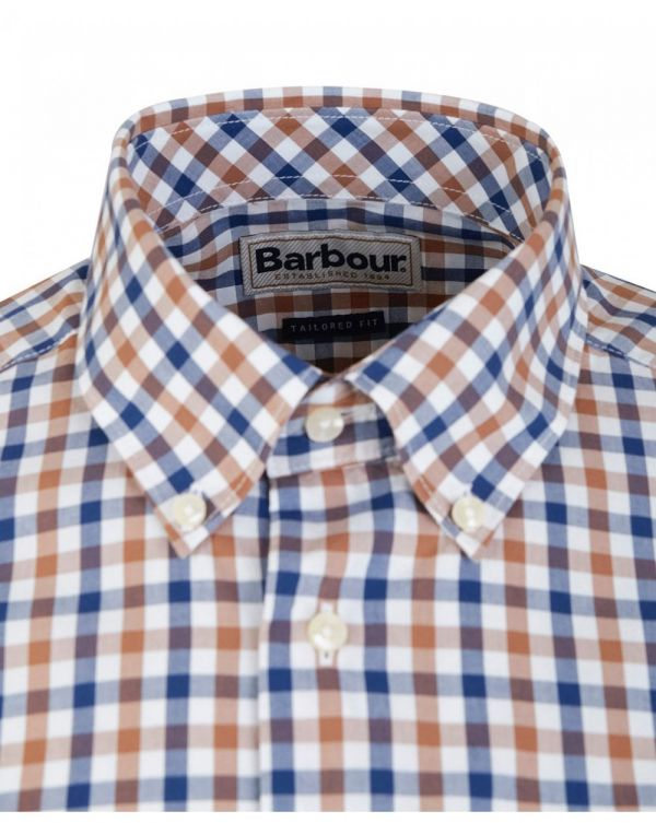 3 Colour Gingham Tailored Fit Shirt