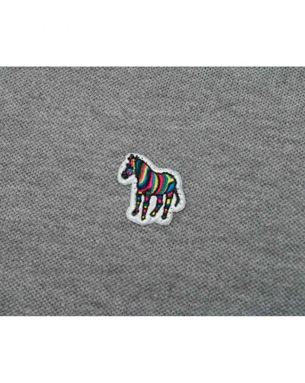 Long Sleeved Zebra Regular Fit Polo
