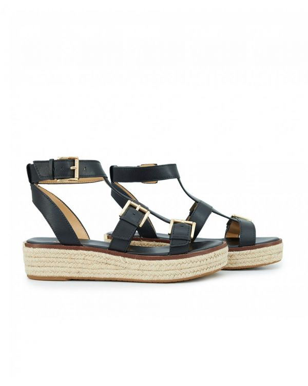 Cunningham Buckle Detail Chunky Sandals
