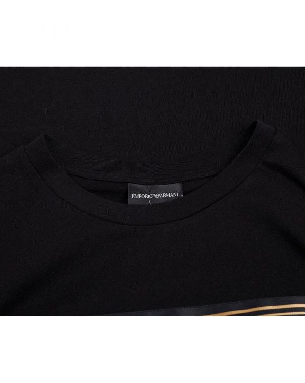Jersey T-shirt With Maxi Patch Logo