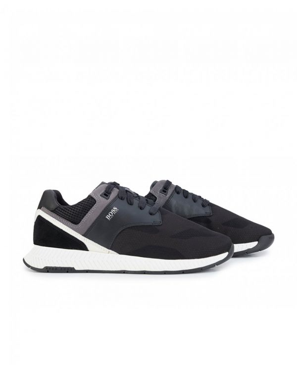 Titanium Run Ballistic Nylon Trainers