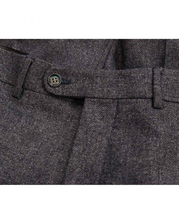 Twill Flannel Trousers