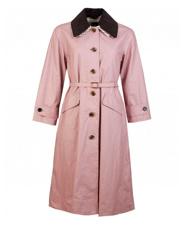 Mildred Casual Cotton Trench Coat