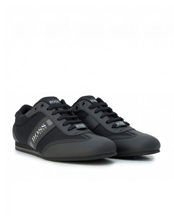 Lighter Low Leather Mesh Trainers