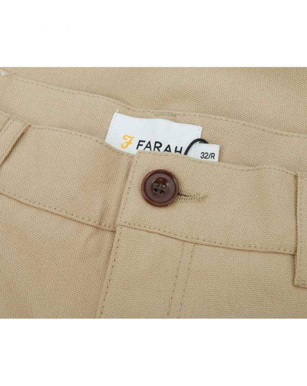 Hawtin Cropped Hopsack Trousers