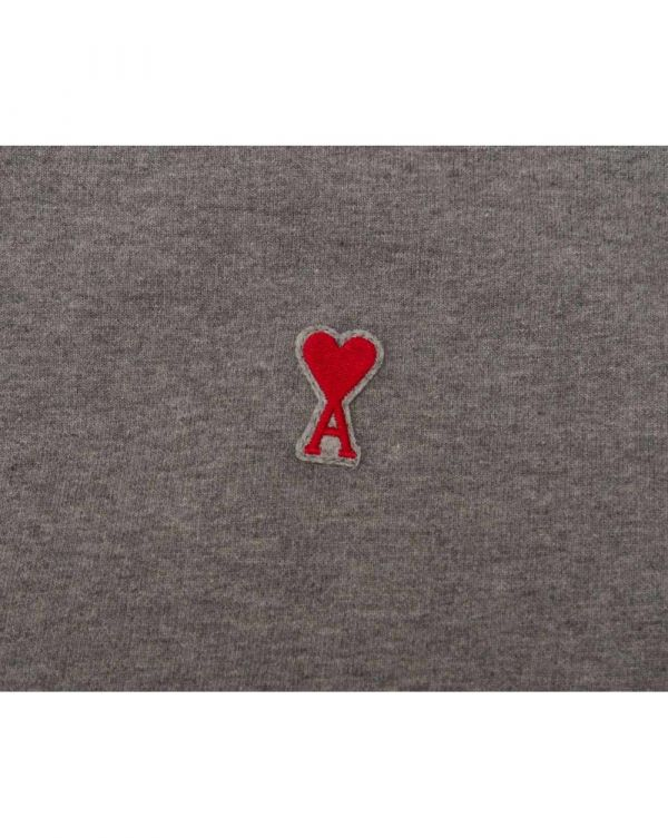 Embroidered Heart Logo Hooded Top