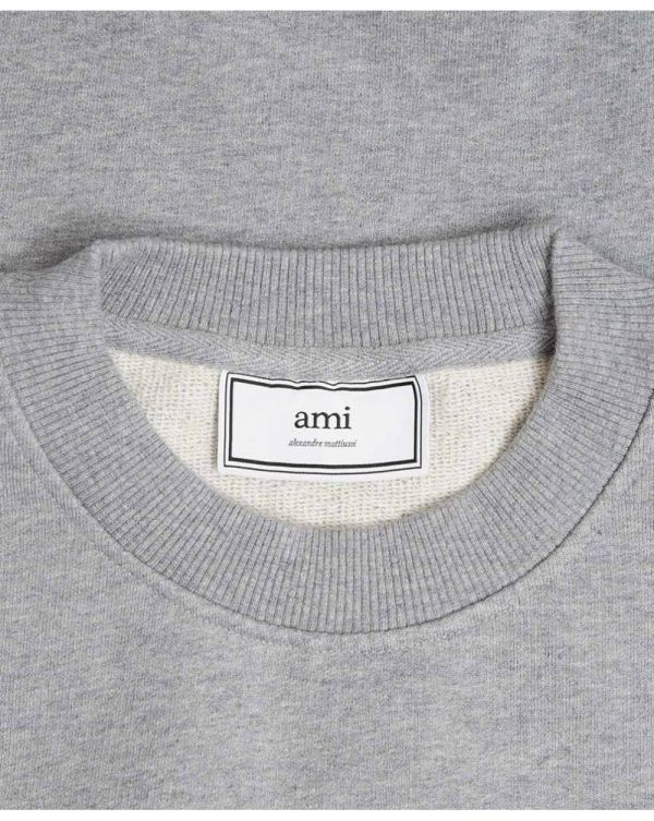 Ami Tri Colour Logo Sweatshirt