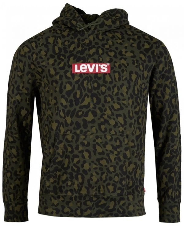 All Over Cheetah Pullover Hoodie
