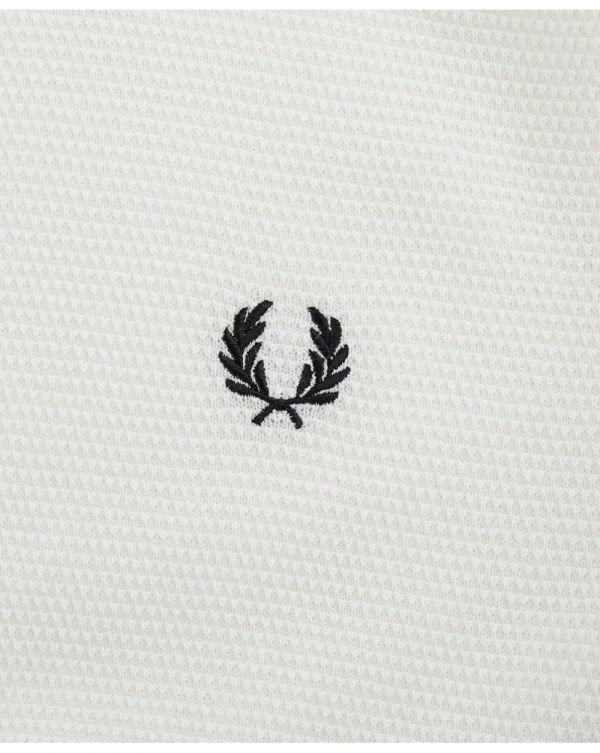 Textured Knitted Polo Shirt