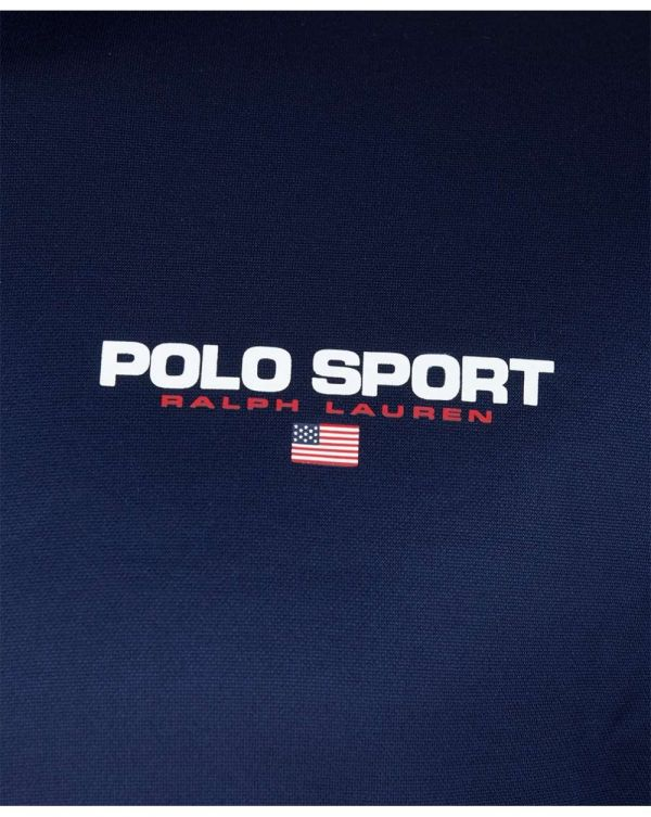 Taped Polo Sport Track Top