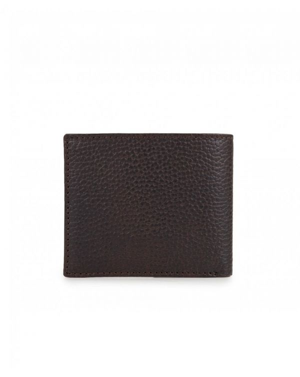 Grain Leather Wallet & Card Gift Set