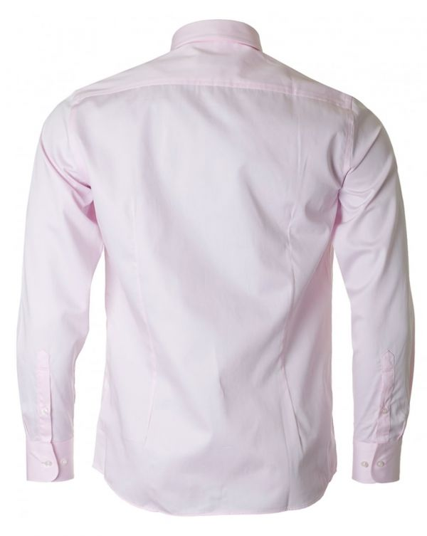 Long Sleeved Cut Away Collar Shirt