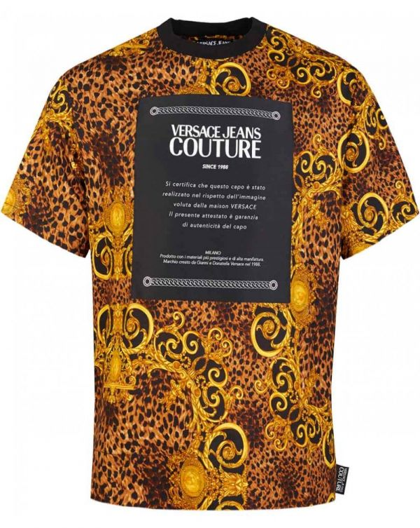 Oversize Baroque Couture Patch T-shirt