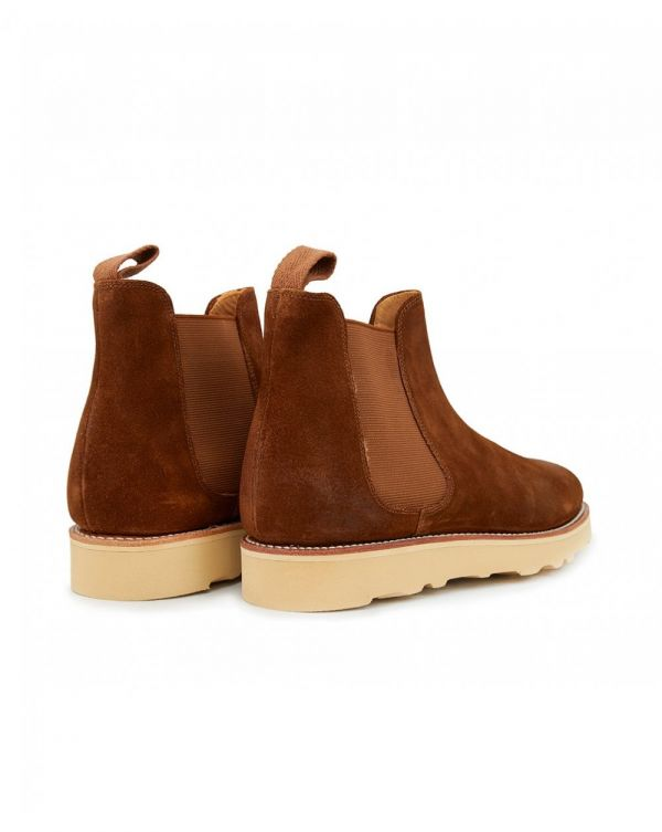Monogram Wedge Chelsea Boots