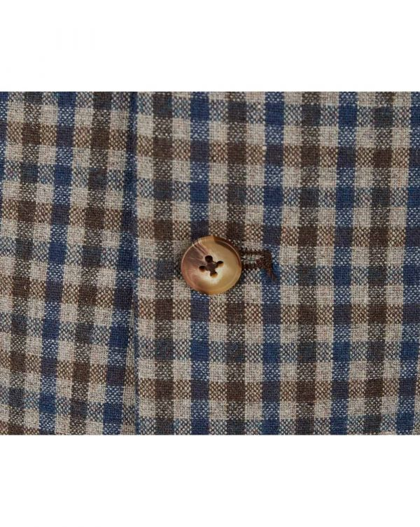 Dogtooth Checked Wasitcoat