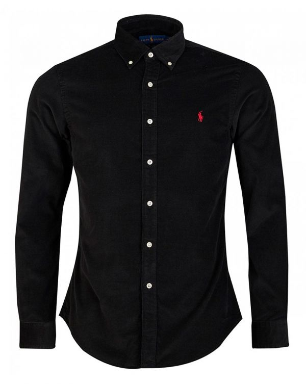 Slim Fit Fine Cord Shirt