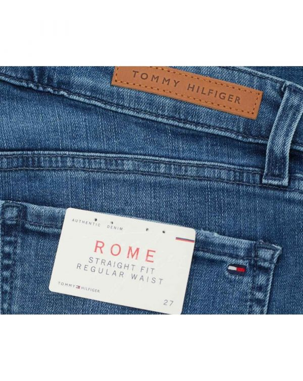 Rome Rolled Up Boyfriend Jeans