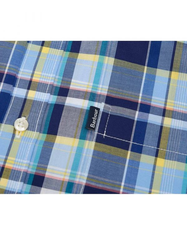 Madras 3 Check Tailored Fit Shirt