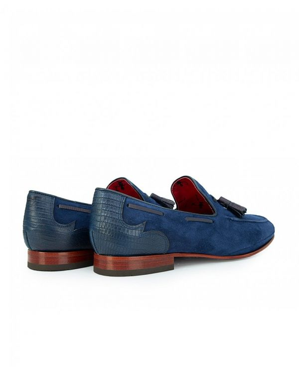 Martini Suede Tassle Loafers