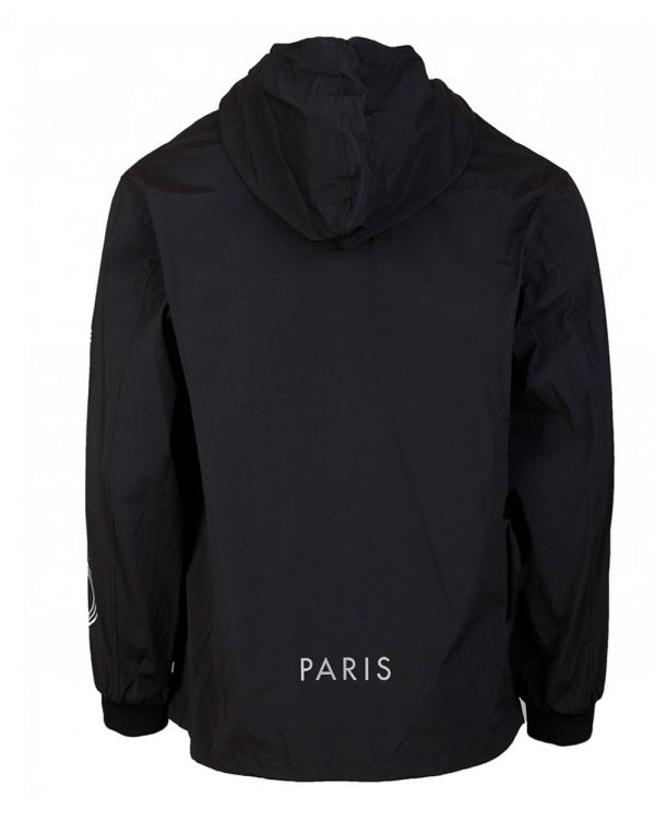 Hooded Quarter Zip Anorak