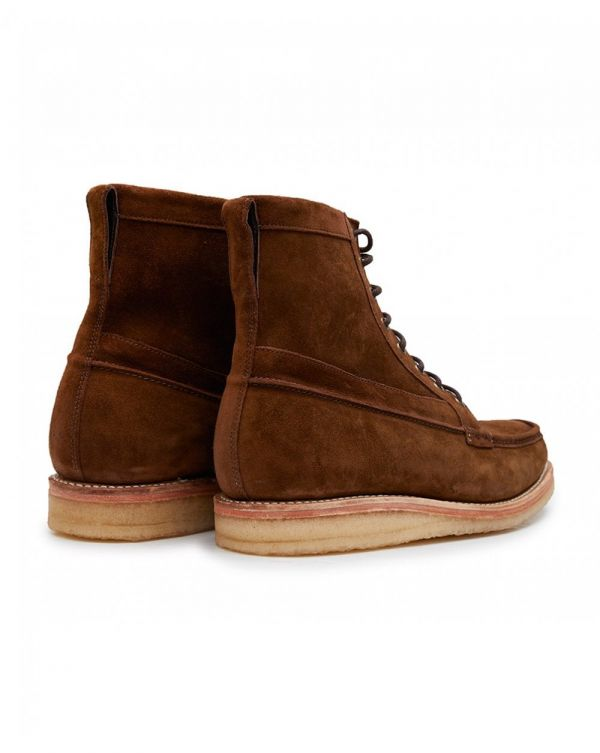Garret Suede Crepe Sole Boots