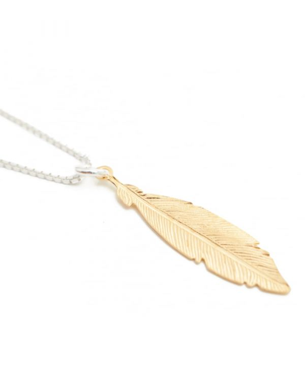 Hoxton Feather Necklace