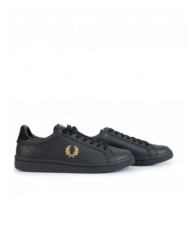 B721 Leather Trainers