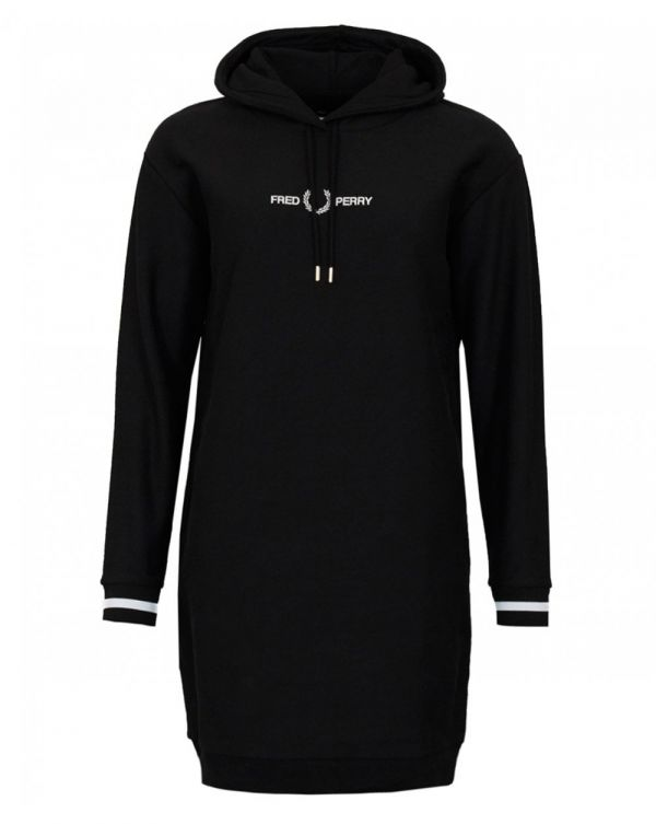 Hooded Logo Sweat Dress