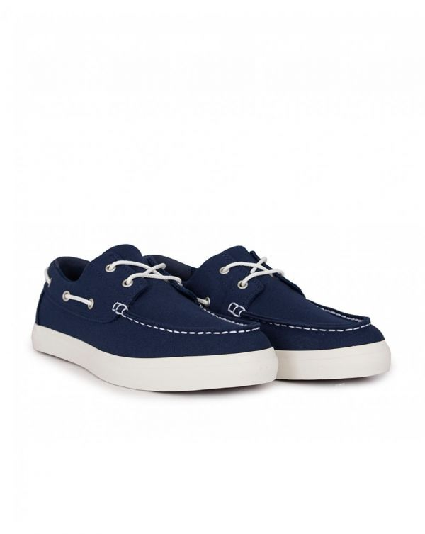 Union Wharf Canvas Boat Shoes