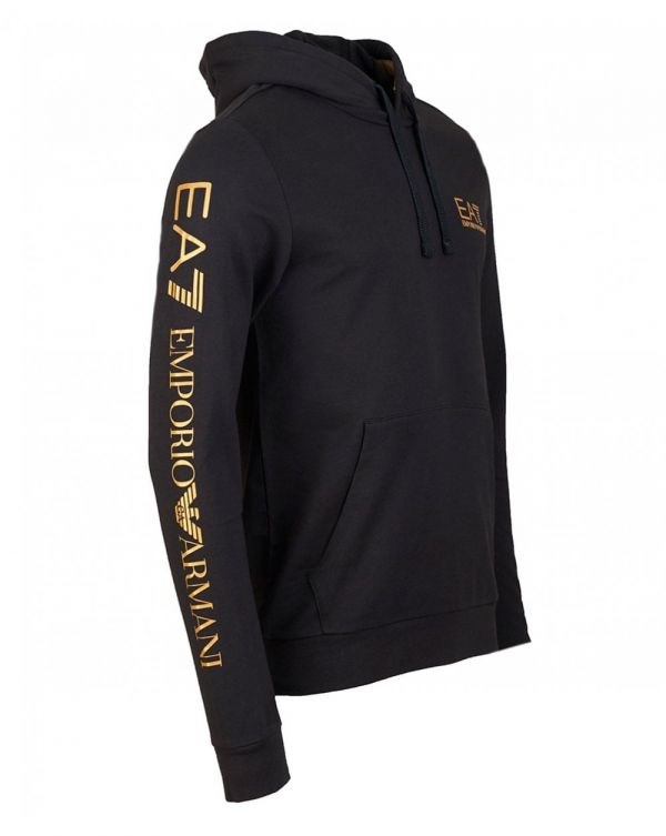 Train Series Pullover Gold Logo Hoody