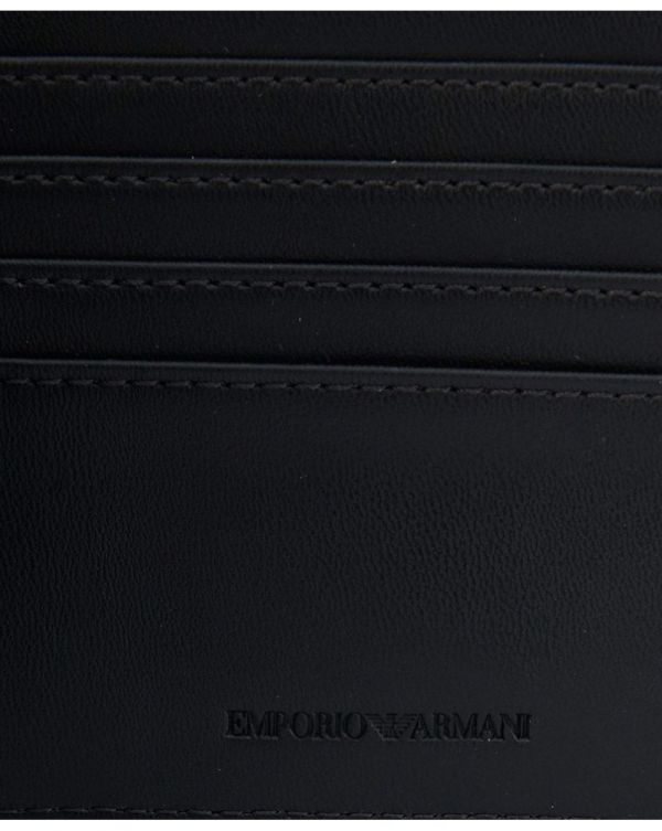 All Over Logo Leather Bilfold Wallet