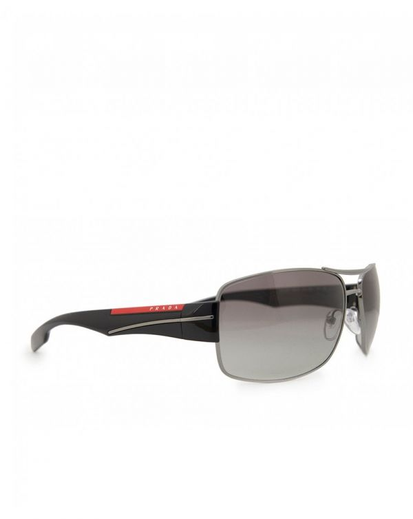 Rectangle Aviator Sunglasses