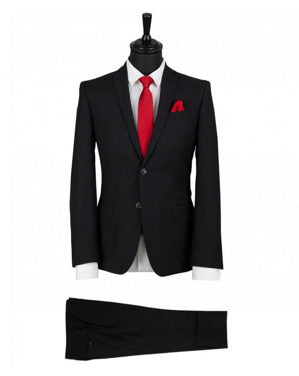Plain Single Breasted Suit