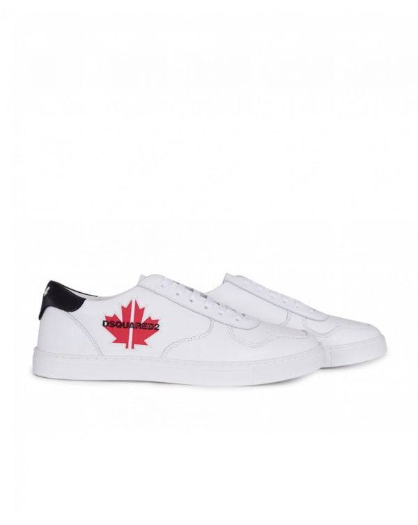 Maple Gym Leather Sneakers