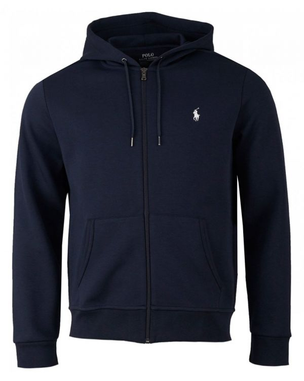Full Zip Through Hooded Top