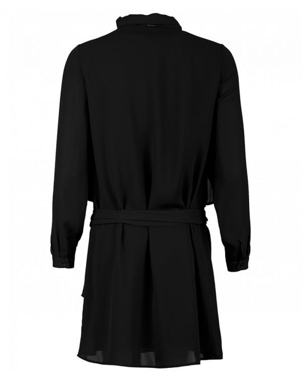Silvian Heach Mogente Tie Neck Belted Dress