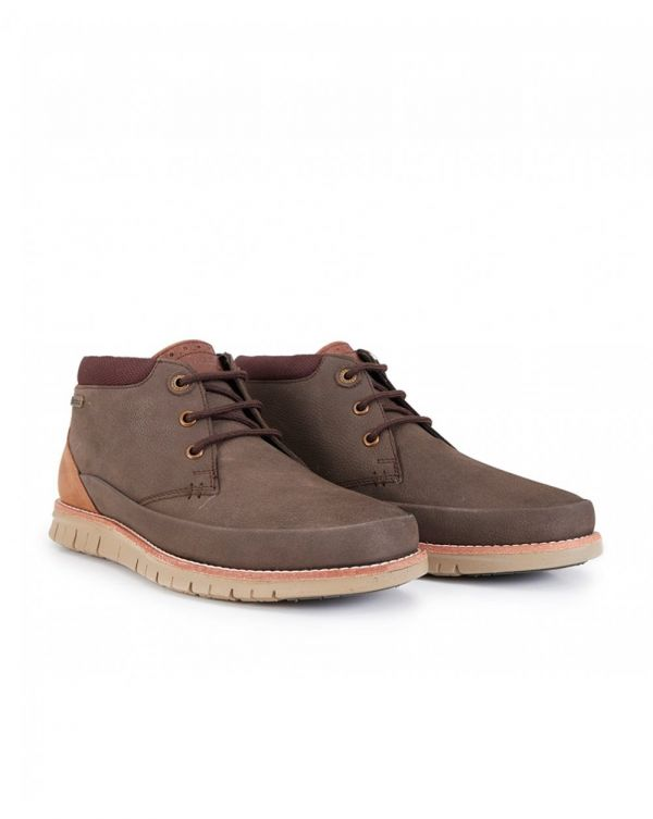 Nelson Leather Flexi Sole Chukka Boots