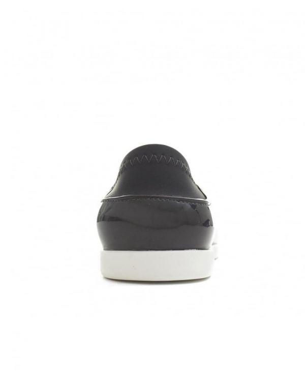 Space Sport Pointed Slip On Shoes