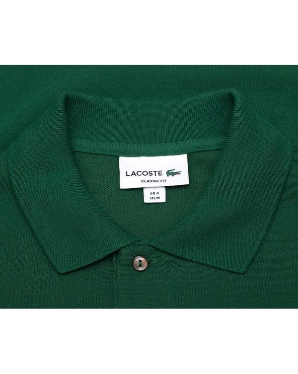 Classic Fit Logo Pique Polo